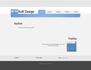 mjmsoft.com screenshot