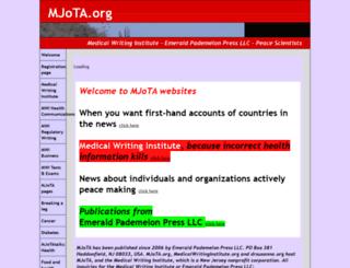 mjota.org screenshot
