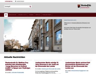 mjv.rlp.de screenshot