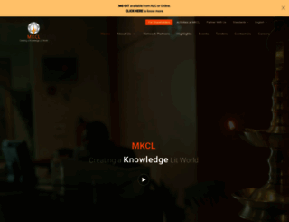 mkcl.org screenshot