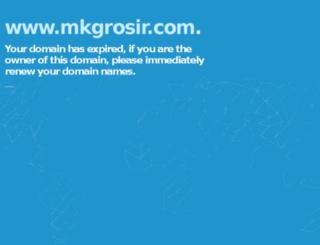 mkgrosir.com screenshot