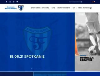 mksflota.swinoujscie.pl screenshot