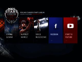 mksstartlublin.pl screenshot