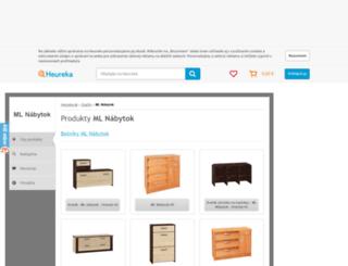 ml-nabytok.heureka.sk screenshot