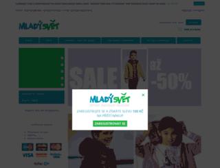 mlady-svet.cz screenshot