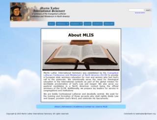 mlisem.org screenshot