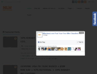 mlmclassi.com screenshot