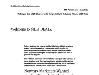 mlmdealz.com screenshot