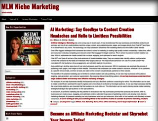 mlmnichemarketing.com screenshot