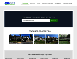mls.foreclosure.com screenshot