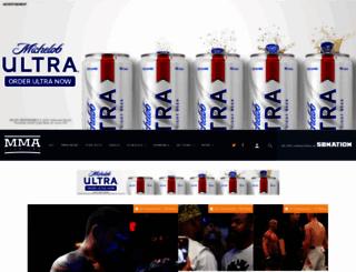 mmafighting.com screenshot