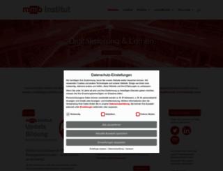 mmb-institut.de screenshot