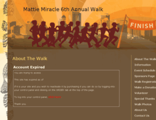 mmcfwalk.myevent.com screenshot