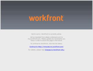 mmcweb.attask-ondemand.com screenshot