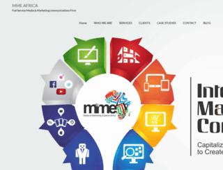 mmeafrica.com screenshot