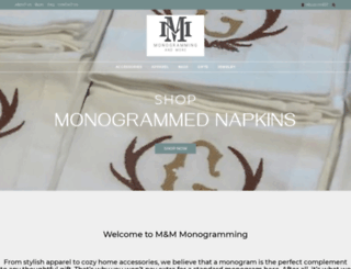 mmmonogramming.com screenshot