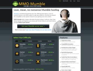 mmo-mumble.com screenshot