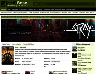 mmobase.de screenshot