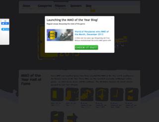 mmooftheyear.com screenshot