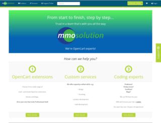 mmosolution.com screenshot