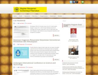 mmsp-pascasarjana-unram.blogspot.com screenshot