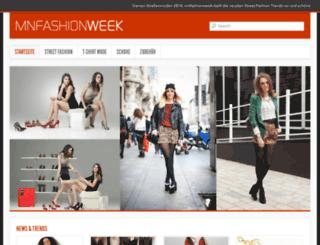 mnfashionweek.com screenshot