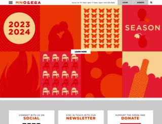 mnopera.org screenshot