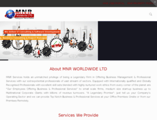 mnrworldwide.com screenshot