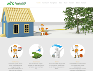 mnservice.dk screenshot