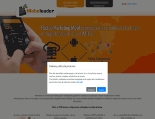 mobeleader.com screenshot
