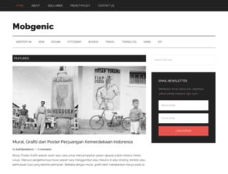 mobgenic.com screenshot