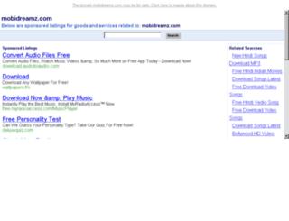mobidreamz.com screenshot