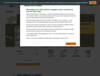 mobigo-bourgogne.com screenshot