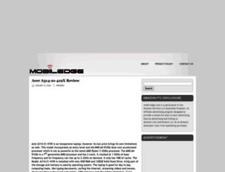 mobil-edge.com screenshot