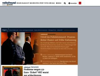 mobil.volksfreund.de screenshot