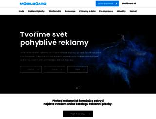 mobilboard.cz screenshot