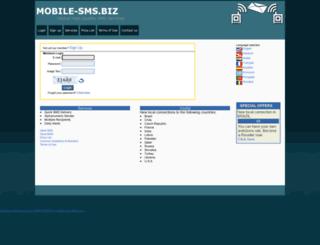 mobile-sms.biz screenshot