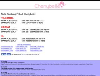 mobile.cherrybelle.info screenshot
