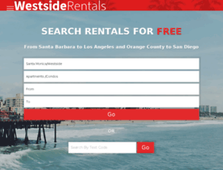 mobile.westsiderentals.com screenshot