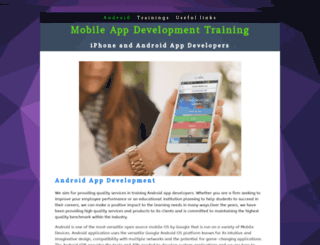 mobileappdevelop.yolasite.com screenshot