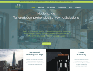 mobilecadsurveying.co.uk screenshot