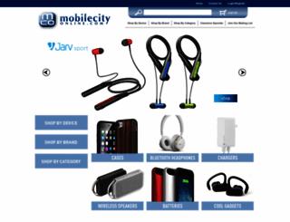 mobilecityonline.com screenshot