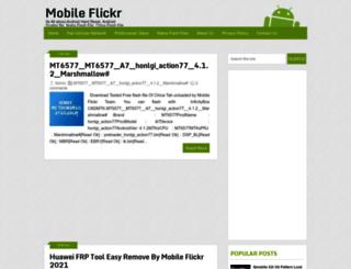 mobileflickr.blogspot.com screenshot