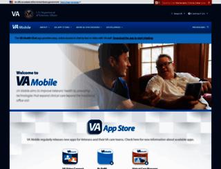 mobilehealth.va.gov screenshot