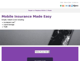 mobileinsurance.co.uk screenshot