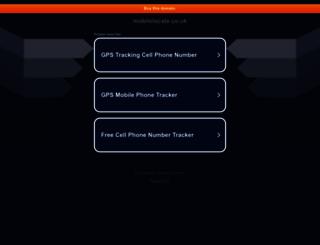 mobilelocate.co.uk screenshot
