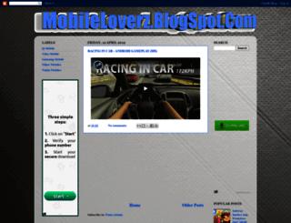 mobileloverz.blogspot.com screenshot