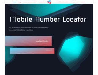mobilenumberlocator.in screenshot