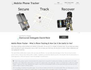 mobilephonetracker.org.uk screenshot