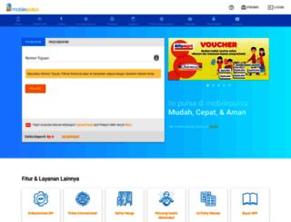 mobilepulsa.com screenshot